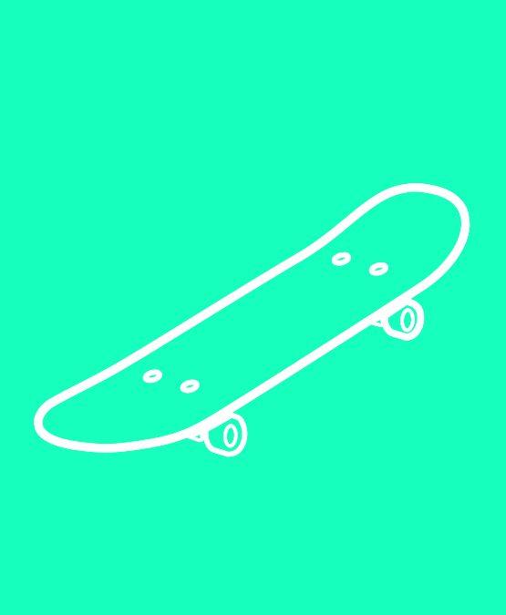 icone skateboard portrait Nico