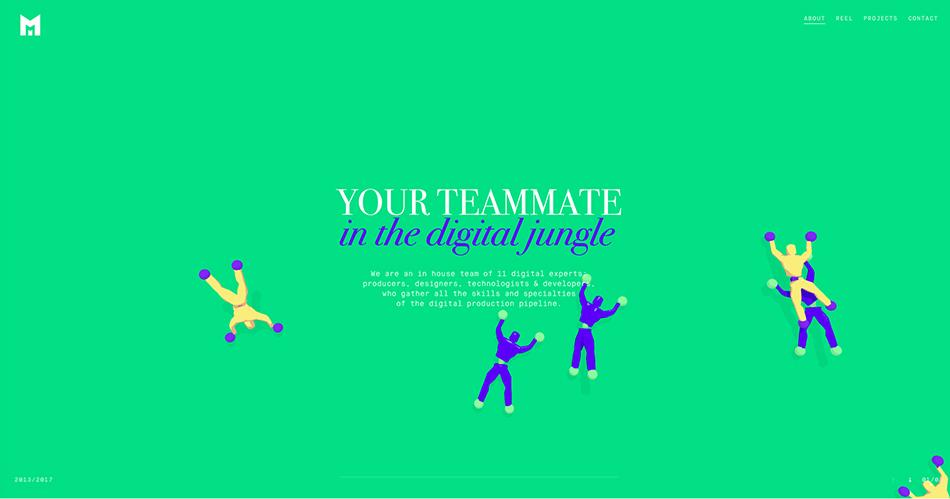 illustration 7 digital love | agence West