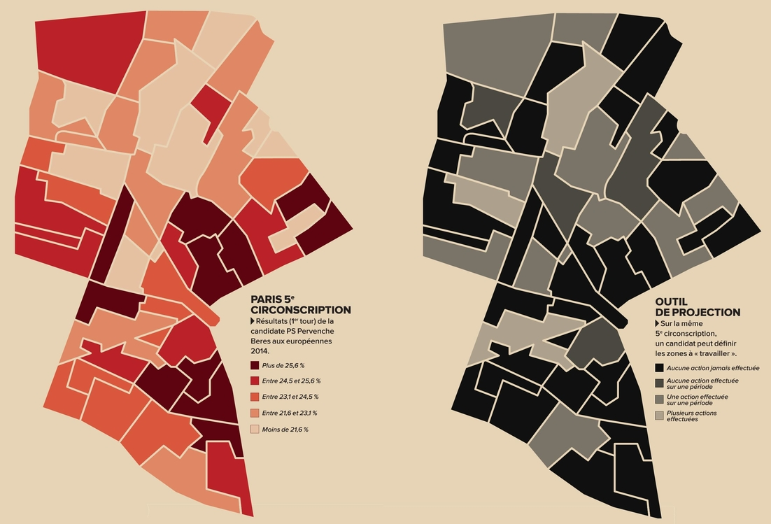 illustration 2 élection & data | agence West