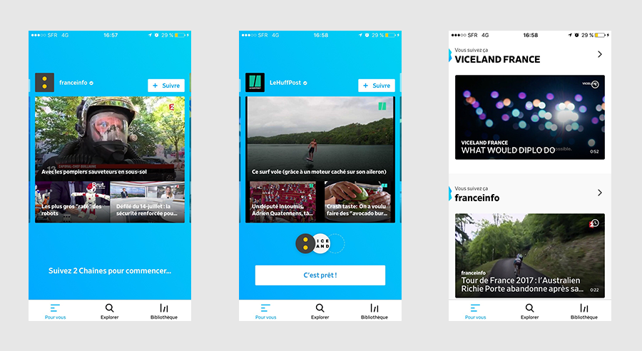illustration article Dailymotion 1 : screenshots mobile| agence West